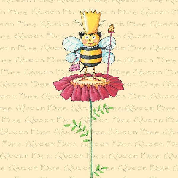 Girl In Woods Wallpaper Queen Bee By Mary Engelbreit Decalgirl