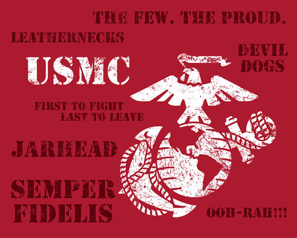 Wallpaper Gaming Girl Semper Fi By Us Marine Corps Decalgirl