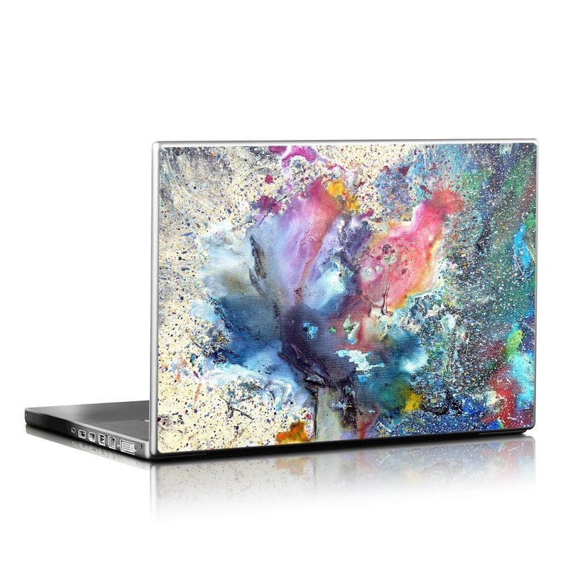 How To Make Wallpaper Fit On Iphone 6 Laptop Skin Cosmic Flower By Creative By Nature Decalgirl