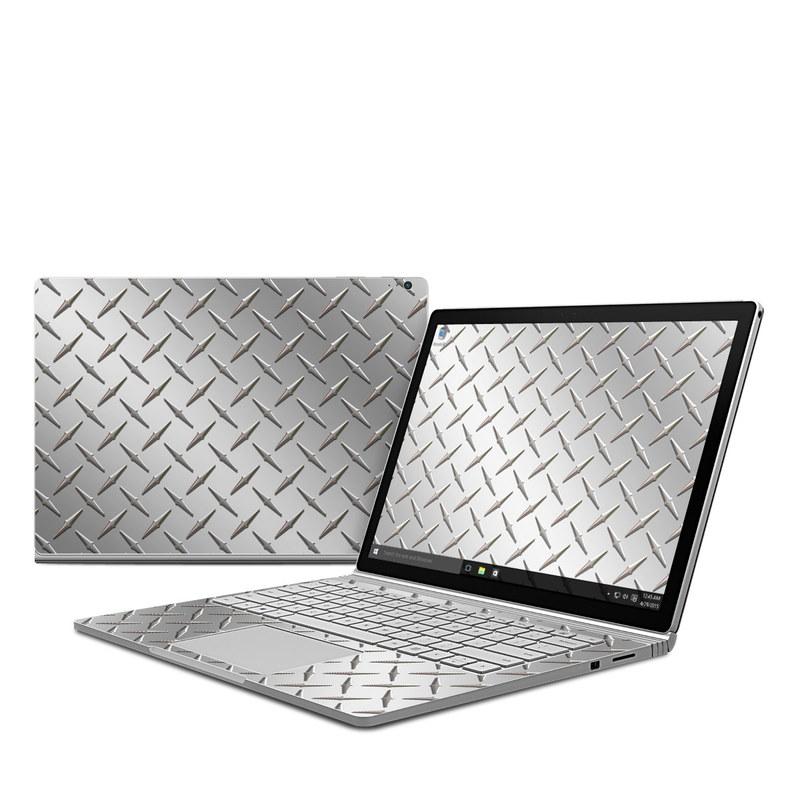 Microsoft Surface Book Skin - Diamond Plate DecalGirl
