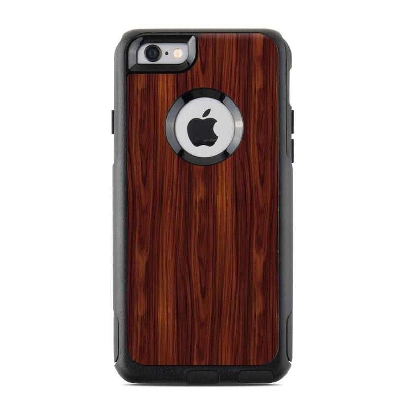 OtterBox Commuter iPhone 6 Case Skin - Dark Rosewood DecalGirl