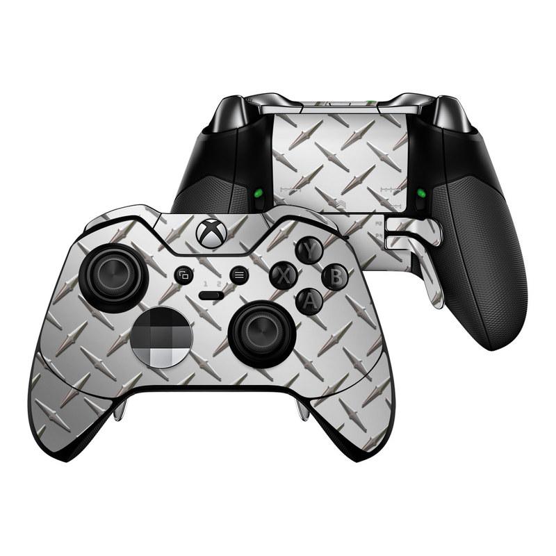 Microsoft Xbox One Elite Controller Skin - Diamond Plate DecalGirl