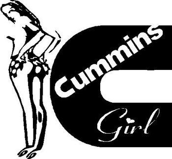 Light Pink Wallpaper Quotes Cummins Girl Vinyl Decal Sticker