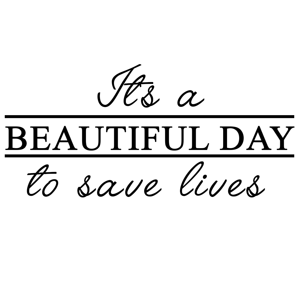 Greys Anatomy Quotes Wallpaper Grey S It S A Beautiful Day To Save Lives Derek Shepherd