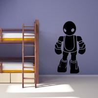 robot wall decals