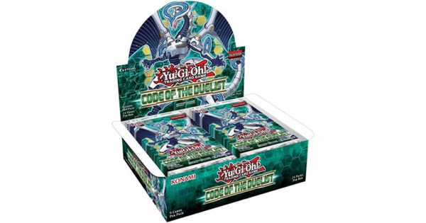 Code Of The Duelist Booster Box Yu Gi Oh Booster Box