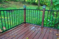 Metal Deck Railing - Wood, Aluminum, Galvanized Iron and ...