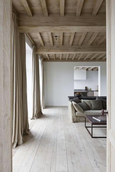 awesome Déco Salon - Un salon orangé et une verrière style Mondrian