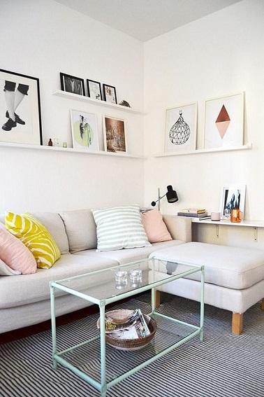Idee Decoration Petit Salon. aménager un petit salon - côté maison ...