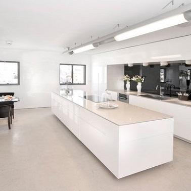 4 styles déco pour une cuisine blanche Deco-Cool