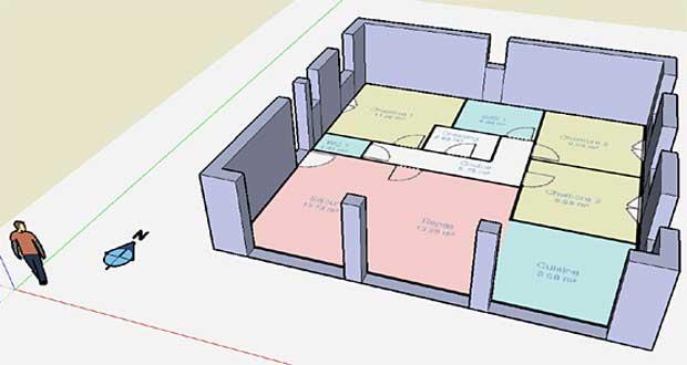4 logiciels plan maison gratuits faciles à utiliser - Plan De Maison En 3d