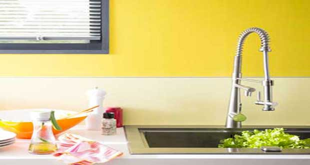 Une couleur jaune pour une déco pétillante