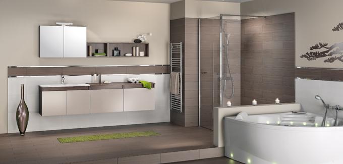 Porte douche Modern Decor Pinterest Modern - salle de bain carrelee