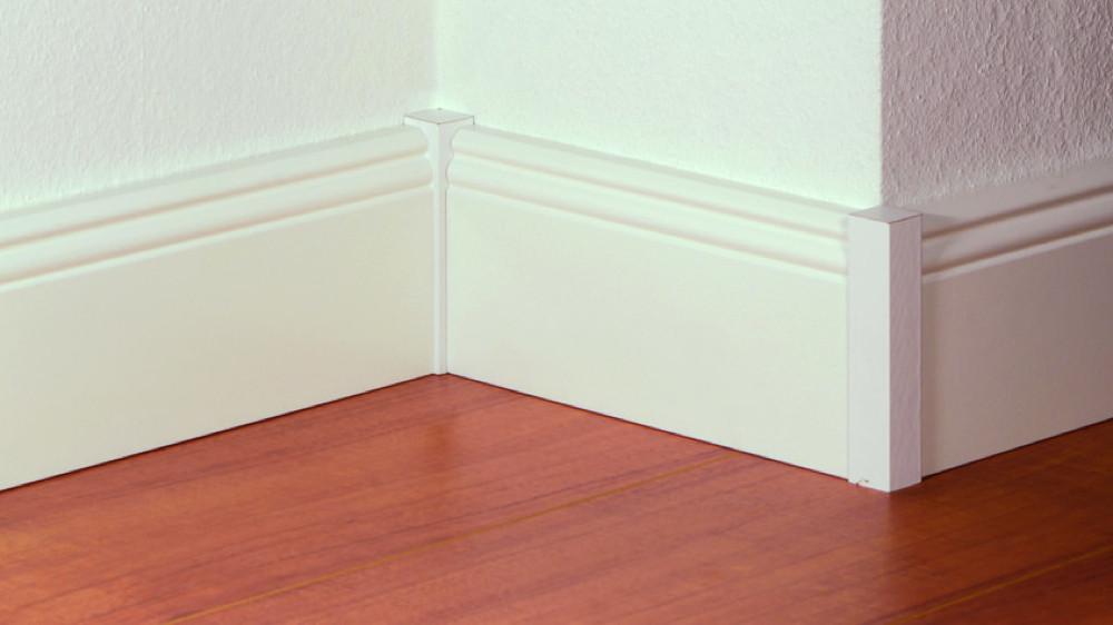 PVC, bois, carrelage  quelle plinthe choisir ? - M6 Decofr - Plinthes Bois A Peindre