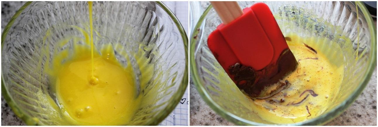 Mousse, egg yolk whip & temper