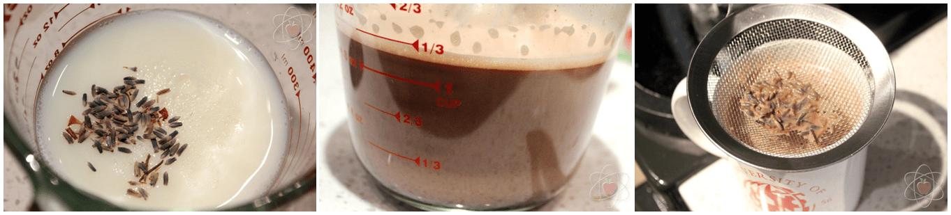 Hot chocolate steps