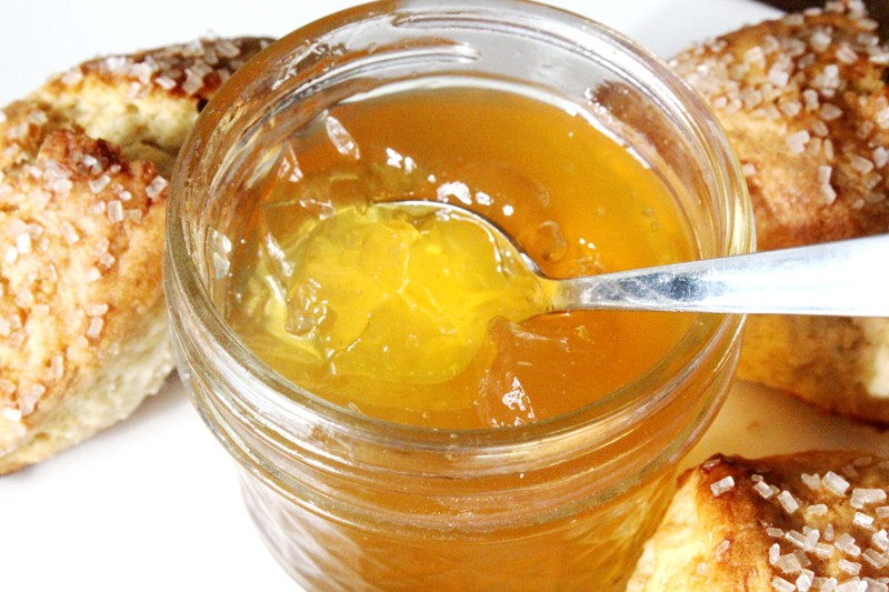 Spiced Orange Jelly Jar