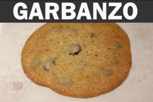 Garbanzo bean flour, baked