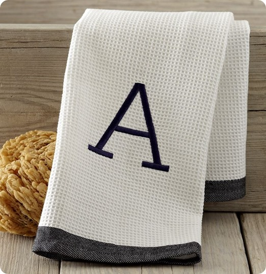 waffle-stripe-hand-towel-with-monogram-from-west-elm