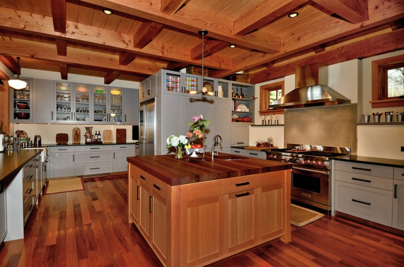 Light Gray Kitchen Cabinets In Various Awesome Rooms