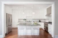 Great Grey Quartz Countertop White Kitchen Combo Ideas to ...
