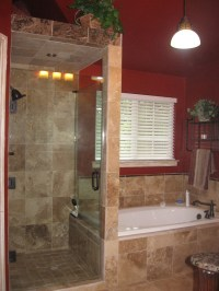 Walk in Shower without Door for More Air and Light | Decohoms