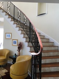 Wrought Iron Stair Railings for Stunning Interior ...