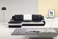 Be Simple yet Modern with These Black and White Living ...
