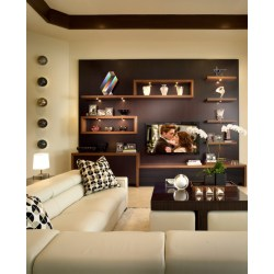 Small Crop Of Wall Shelves Living Room