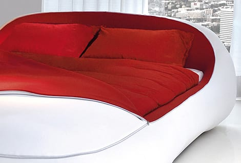 zip bed florida 2 Cama de diseño minimalista... con cremallera