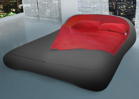 zip bed florida 7 Cama de diseño minimalista... con cremallera