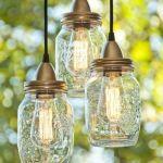 Ideas para decorar con tarros de vidrio lámparas DIY
