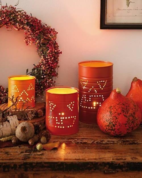 Manualidades para halloween con ideas para reciclar latas - Ideas para decorar con materiales reciclados ...