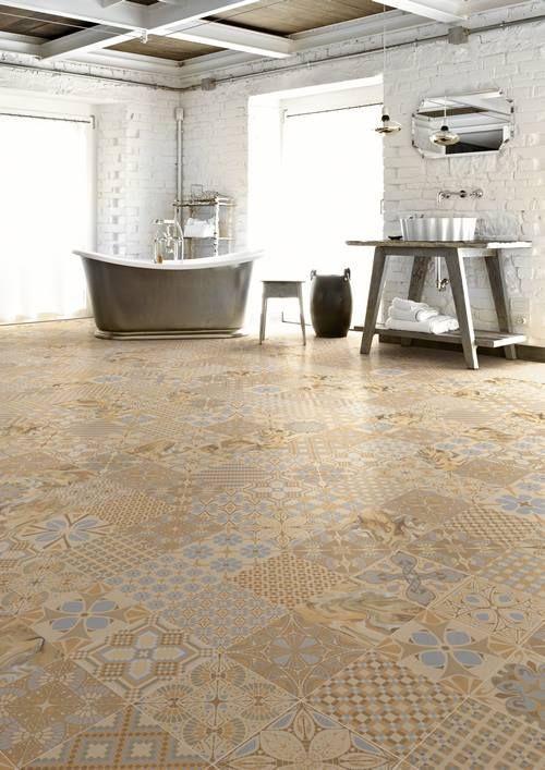 Tendencias en revestimientos qu baldosas y azulejos - Colocar baldosas suelo ...