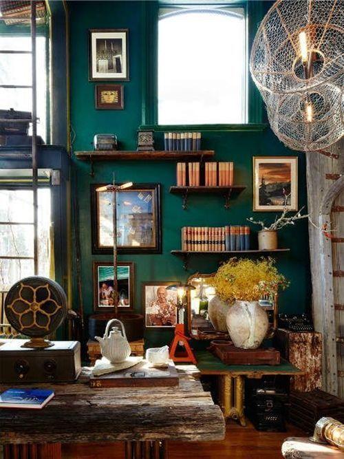 Decoracion vintage muebles con palets y reciclados ideas - Pintar la casa ideas ...