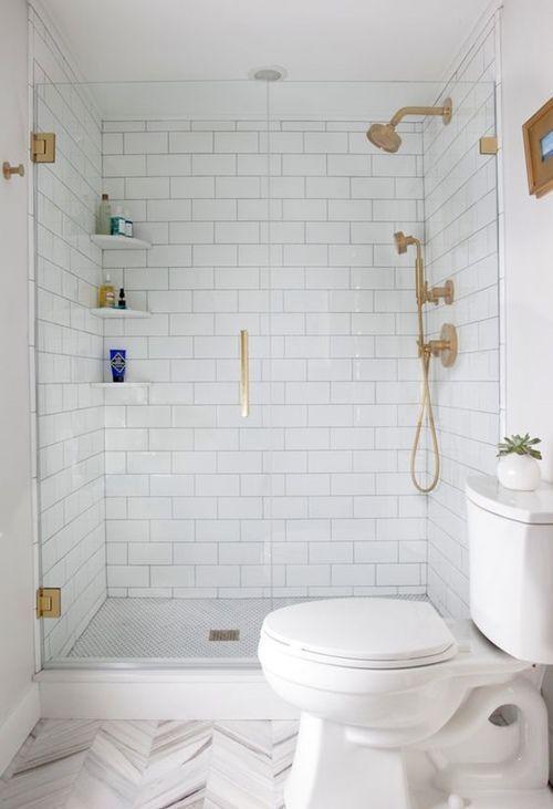 12 cuartos de baño con ducha de estilo vintage 6
