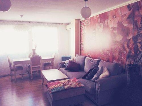 Casas con encanto piso pequeño con decoración boho chic singular 15