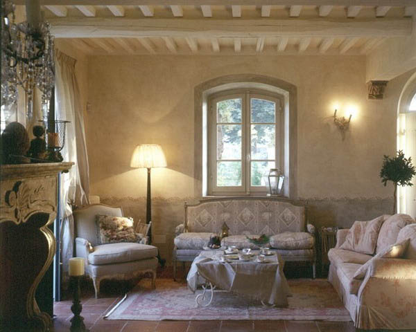 New 18th Century French Decorating Ideas, Rediscovering French Style - french style living room