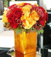 Beautiful Floral Arrangements, Yellow Color Combinations