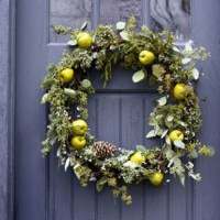 Making Wreaths for Fall and Winter Decorating, 30 Door ...