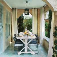 Patio Curtain Ideas - The House Decorating