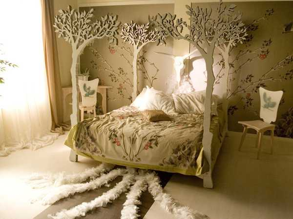 Black And White Wallpaper Designs 30 Unusual Beds Creating Extravagant And Unique Bedroom Decor