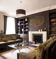 Chocolate Brown Interior Colors and Comfortable Interior ...