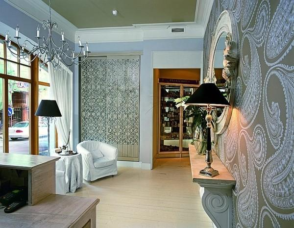 Black And White Wallpaper Bedroom Ideas Fabulous Decorative Patterns Adding Interest To Modern