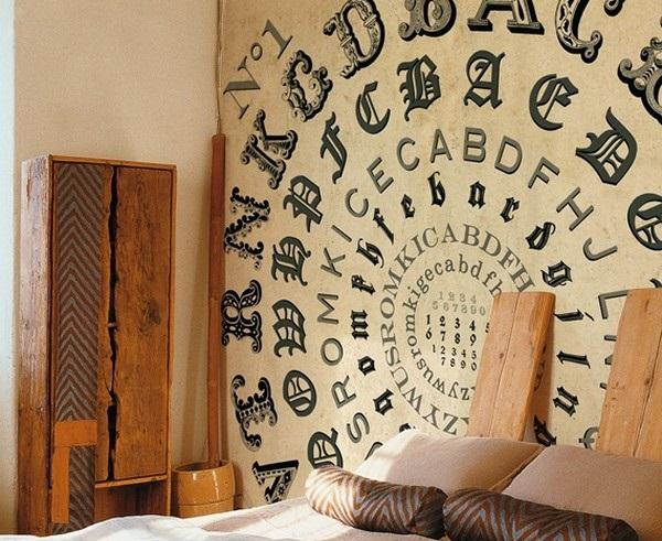 Deco Wallpaper 3d Wallpapers Con Letras Para Paredes
