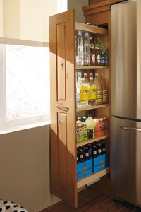 Pantry Cabinet Pull Out - Decora Cabinetry