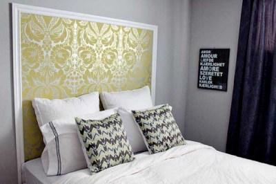 18 dicas de como usar papel de parede na cabeceira da cama