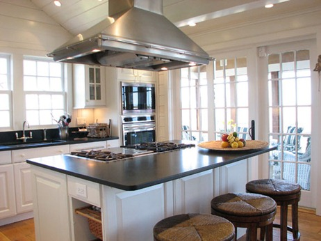 Fotos de cocinas con isla central for Diseno cocinas con isla central