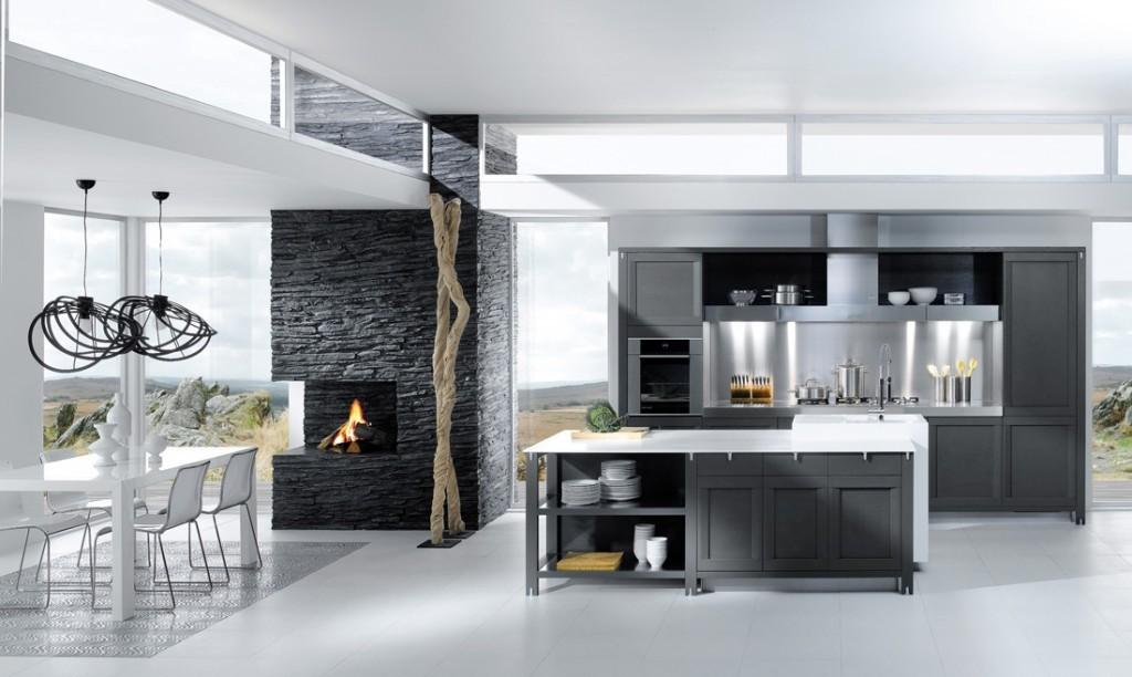 Cocina-color-grisjpg 1,024×612 pixeles Kitchen remodel ideas