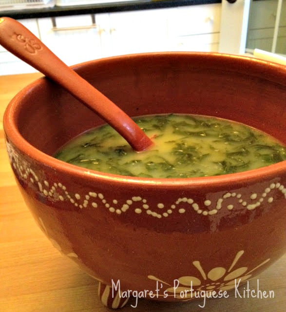 Caldo Verde...Collard greens soup